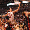 Joakim Noah goes up for a rebound