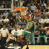 Rondo going in for a layup