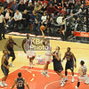 Joakim Noah goes up over Josh Boone