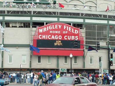 Wrigley Field Entrance