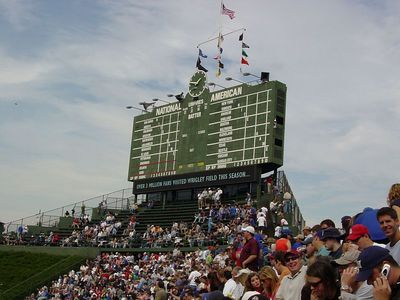 View from Right Field Bleachers
