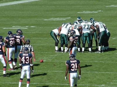 Eagles Huddle
