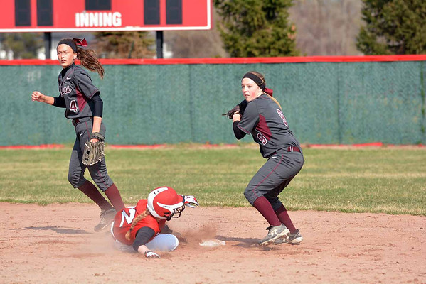 MD Chippewa Valley hosts Henry Ford-softball(RAY SKOWRONEK/THE MACOMB DAILY)