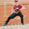 Matt Hamilton/The Daily Citizen<br /> Pate Duddleston fields a ball at 3rd base during practice.
