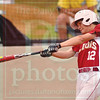 Matt Hamilton/The Daily Citizen<br /> CHS12 gets his bat on a pitch Friday.