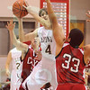 Matt Hamilton/The Daily Citizen<br /> CHS04 puts up a shot between CAYA 50 and 33 Thursday.
