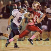 Matt Hamilton/The Daily Citizen<br /> CHS41 blows by UC09 on his way to a long touchdown Friday.