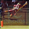 Matt Hamilton/The Daily Citizen<br /> CHS41 dives at the pylon for a touchdown Friday.
