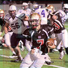 Matt Hamilton/The Daily Citizen<br /> CHS7 bursts into the open and looks for open turf Friday.