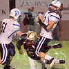 Matt Hamilton/The Daily Citizen<br /> D18 spins away and avoids a tackle from CHS70 Friday.