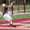 Matt Hamilton/The Daily Citizen<br /> CHS11 makes a TD catch Thursday.