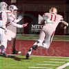 Matt Hamilton/The Daily Citizen<br /> CHS11 dives for a TD Friday.