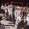 Matt Hamilton/The Daily Citizen<br /> CHS seniors take the field as family and friends cheer them on Friday.