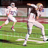 Matt Hamilton/The Daily Citizen<br /> CHS11 hauls in a pass and runs for a TD Friday.