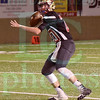Matt Hamilton/The Daily Citizen<br /> C20 looks for a wide reciever.