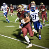 Matt Hamilton/Daily Citizen-News<br /> CHS27 breaks loose for a long TD.