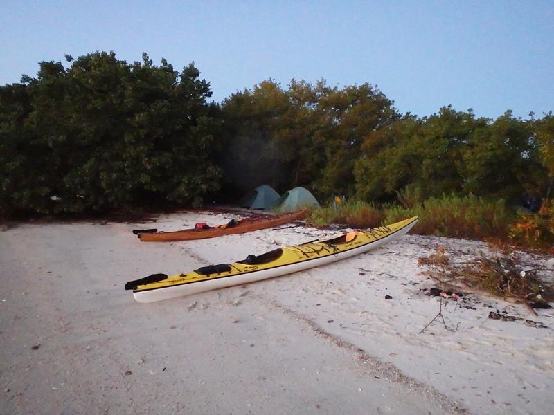 Camp on Pavilion Key