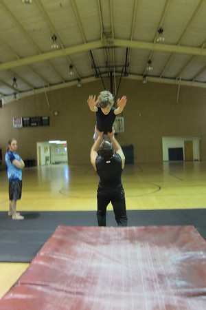 Acro Training with Evan