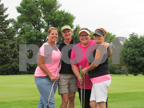 Lisa Nickless, Kathy Peterson, Luann Nekvinda, and Julie Rost before heading out.