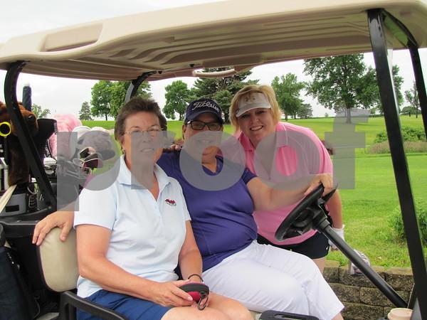 Lori Spanjers, Glenda Harms, and Kari Prescott