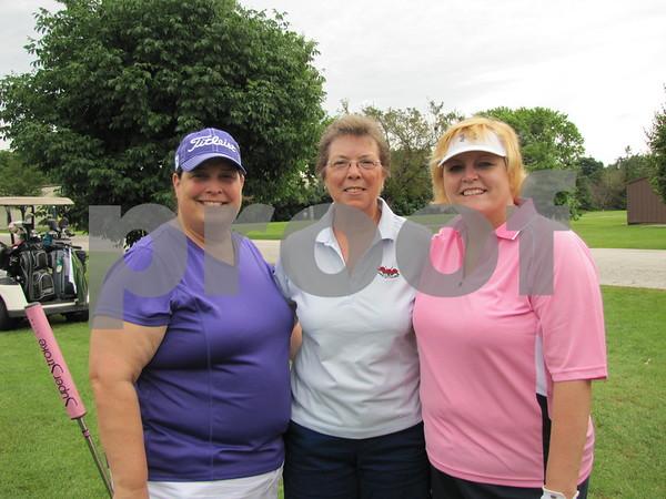 Glenda Harms, Lori Spanjers, and Kari Prescott.
