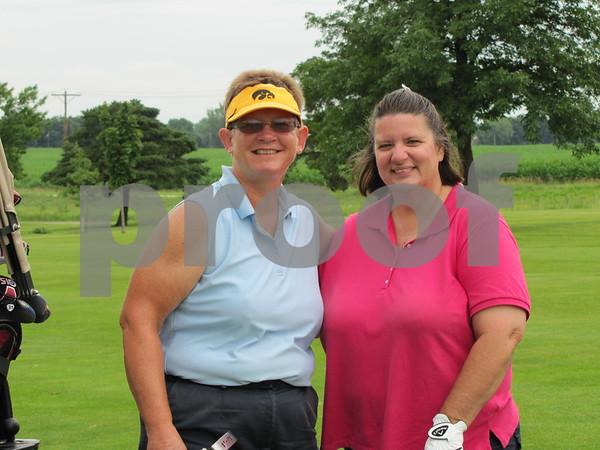Peg Christensen and Brenda Hebert