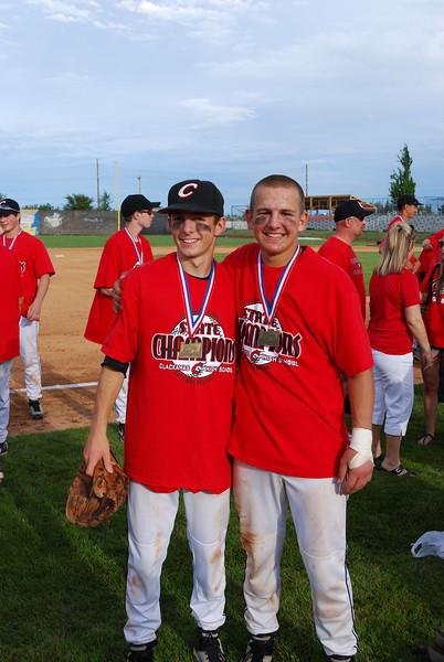 2010 Oregon 6A Baseball Champions <br /> Clackamas High School