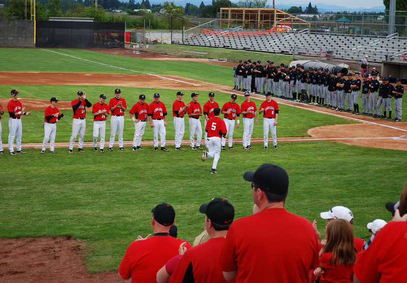 2010 Oregon 6A Baseball Championship Game <br /> Clackamas H.S. vs. South Medford H.S. <br /> 6-05-10