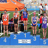 St. Anthony's Anna Sophia Keller stands as the first place finisher in the 1,600 meter state final Saturday at Eastern Illinois University.