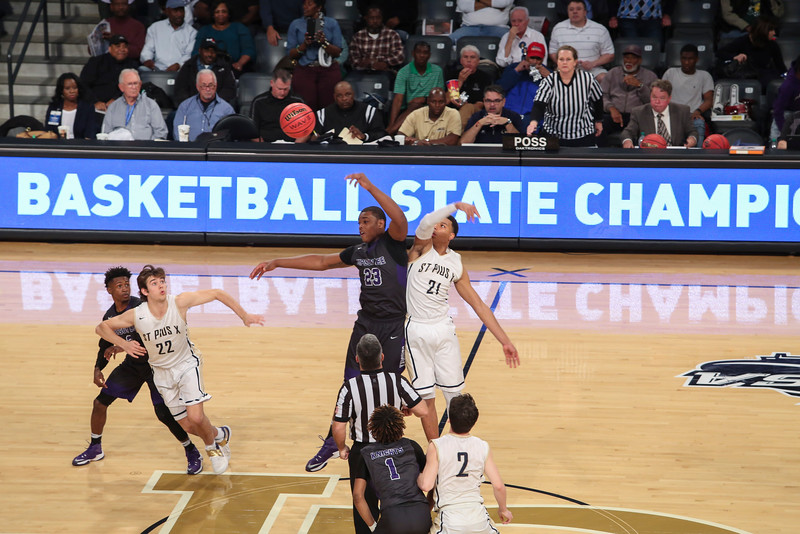 State Basketball Championship: St. Pius vs Upson-Lee