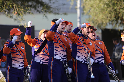 Clemson Cheer/Band Appearances