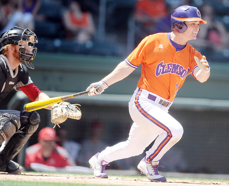 The BB&T College Baseball Series continued with the Clemson Tigers taking on the UNLV Rebels at Fluor Field at the West End Sunday, May 4, 2014.<br /> GWINN DAVIS / THE GREENVILLE DRIVE<br /> GWINN DAVIS MEDIA