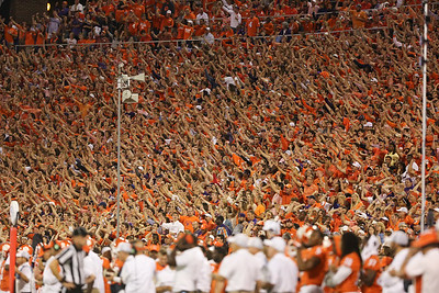 2016 Clemson vs. Louisville- Fans/Atmoshphere. Photo by Dawson Powers