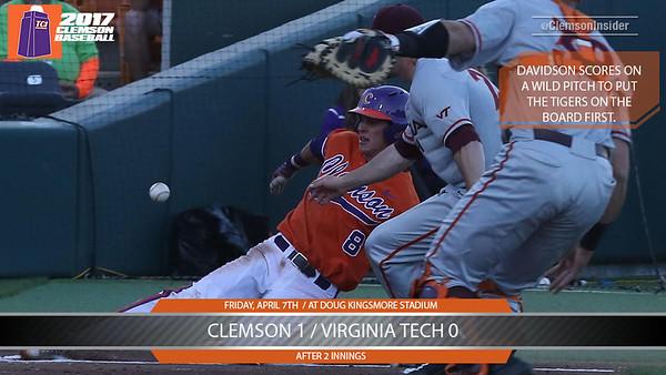 Clemson/Virginia Tech Game 1