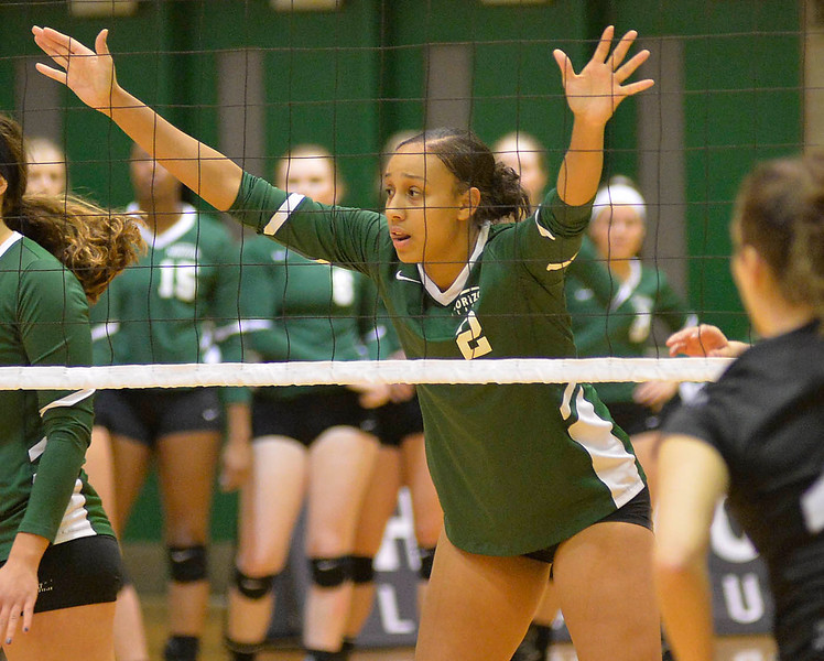 Alexis Middlebrooks plays for Cleveland State in the Horizon League Championship Nov. 19. STEVE MANHEIM / CHRONICLE