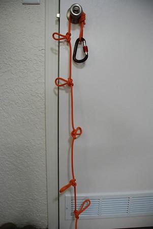 Ropes, Rappels, and Random