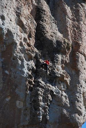 Climbing the Crags