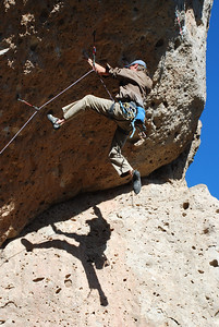 Rob on White Queen, 5.13b.