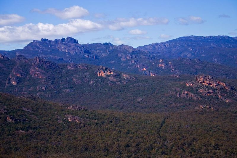 The wonderful Victoria Range of the Grampians.