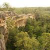 The actual Tianjara Falls - no much water.