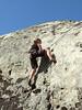 jenn's first climb ever!