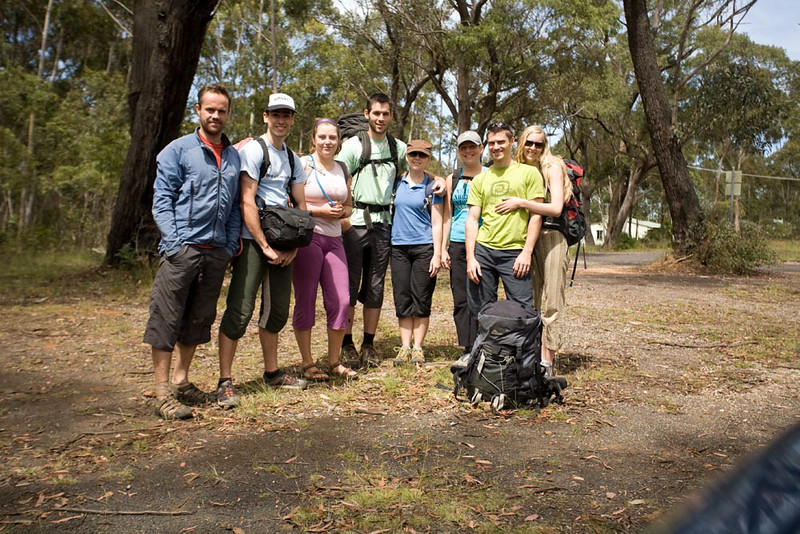 Team 90s Queensland. Neil, Lee, Kathy, Eric, Katherine, Sam, Aaron and Lara