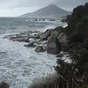 Wild granite coastline on the south edge of Cape Town.