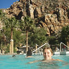 Kathy at the Montagu hot springs for her 30th birthday!