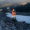 Snow on the summit!