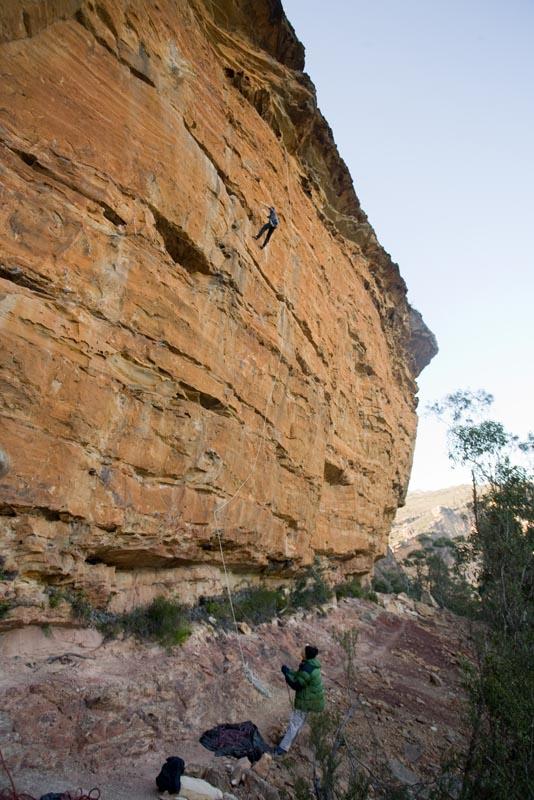 9.5.2009 - Supa Secret Crag in Wales