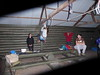 Aid practise in the shelter shed, Arapiles.