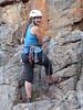 Amber belaying, Bushranger Bluff, Arapiles.