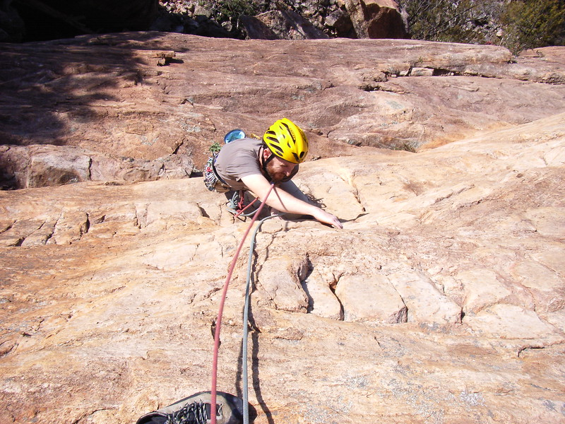 Peter on Moving Out, Arapiles.