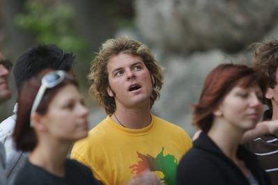 Bryan gazes